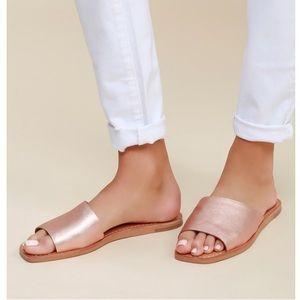 Dolce vita Cato rose gold sandals size 8